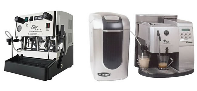 coffee machine hire range
