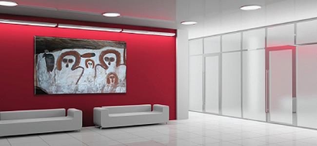 office wal art
