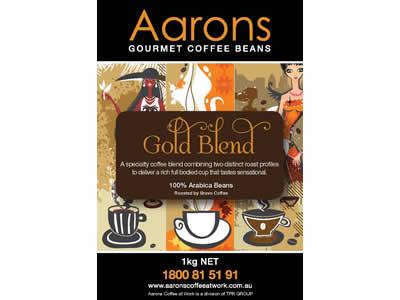 gold blend coffee beans